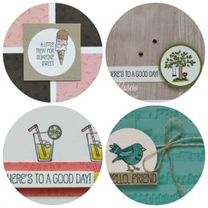 A Good Day card collection tutorial. Lisa's Stamp Studio