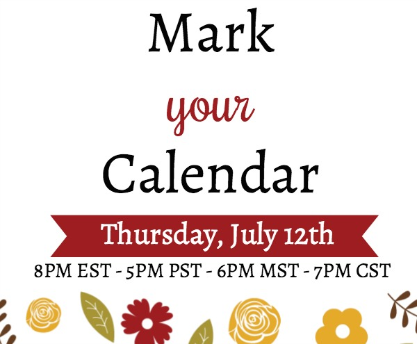 YouTube Live July 12, 2018 Lisa's Stamp Studio