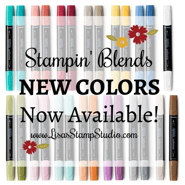 New color Stampin' Blends now available. Stampin' Up!