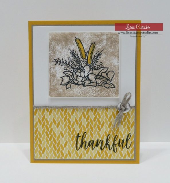 Video tutorial for clear block stamping technique with detailed images. Stampin' Up! Country Home