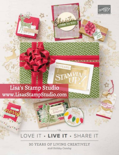 Stampin' Up! Holiday Catalog 2018. Lisa's Stamp Studio