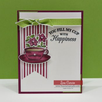 Easy Tea Cup Card