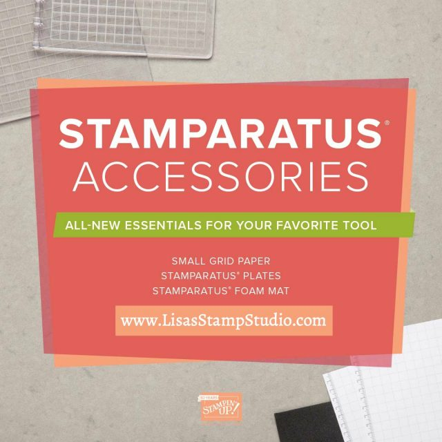 The perfect accessories for the best stamp positioner! Stamparatus accessories available October 1. Stampin' Up!