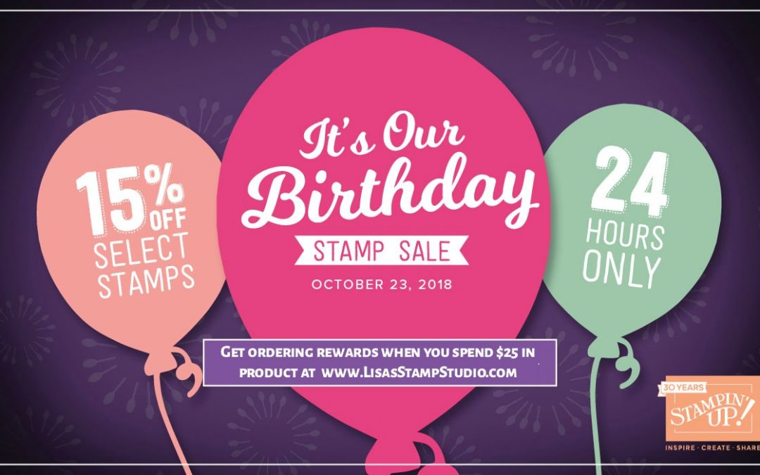 24 Hour Stamp Set Sale!