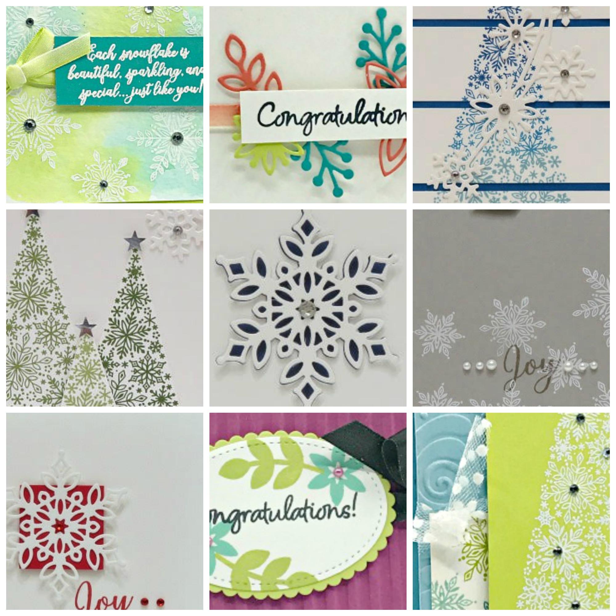 Snowflake Showcase Card Collection $9