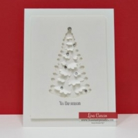 White-Christmas-Tree Card-with-Winter-Woods