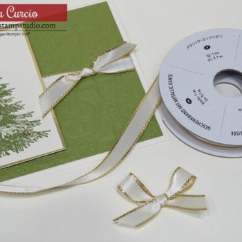 Tips for Tying Bows & Adding Ribbon to Cards