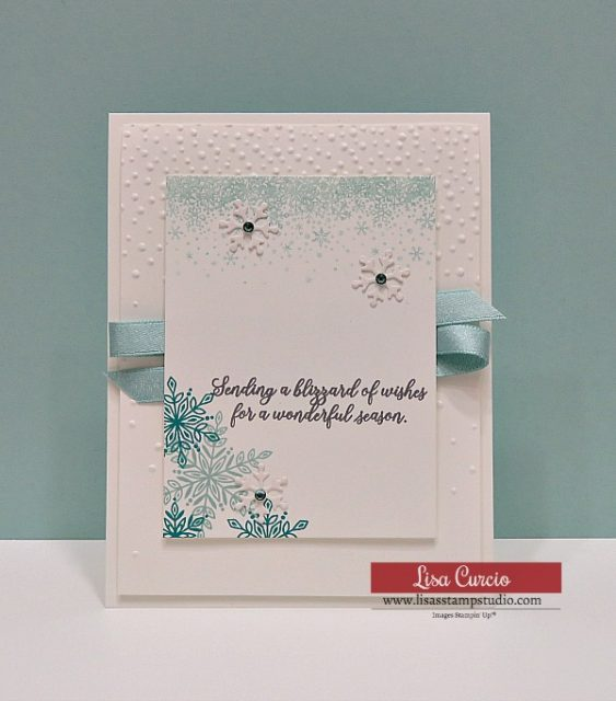 Video tutorial! Snowflake Showcase Seasonal Greeting Card. Velvet snowflakes are just as fun to look at as to touch!