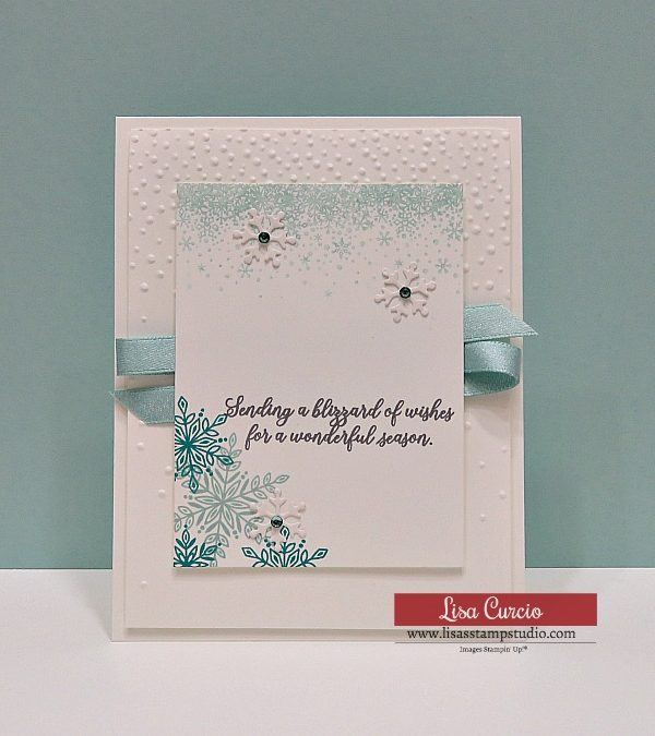 Snowflake Showcase Seasonal Greeting Card