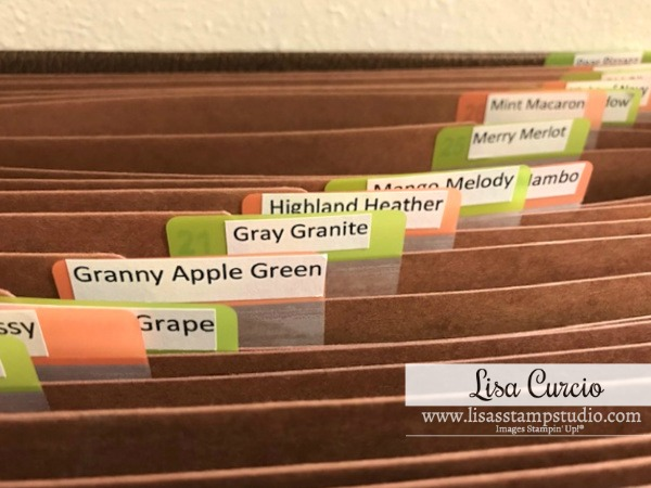 Card stock | Storage of Scraps Craft Room Organization