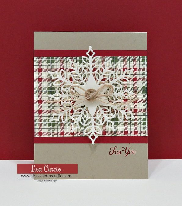 How to Make a Die Cut Snowflake Card