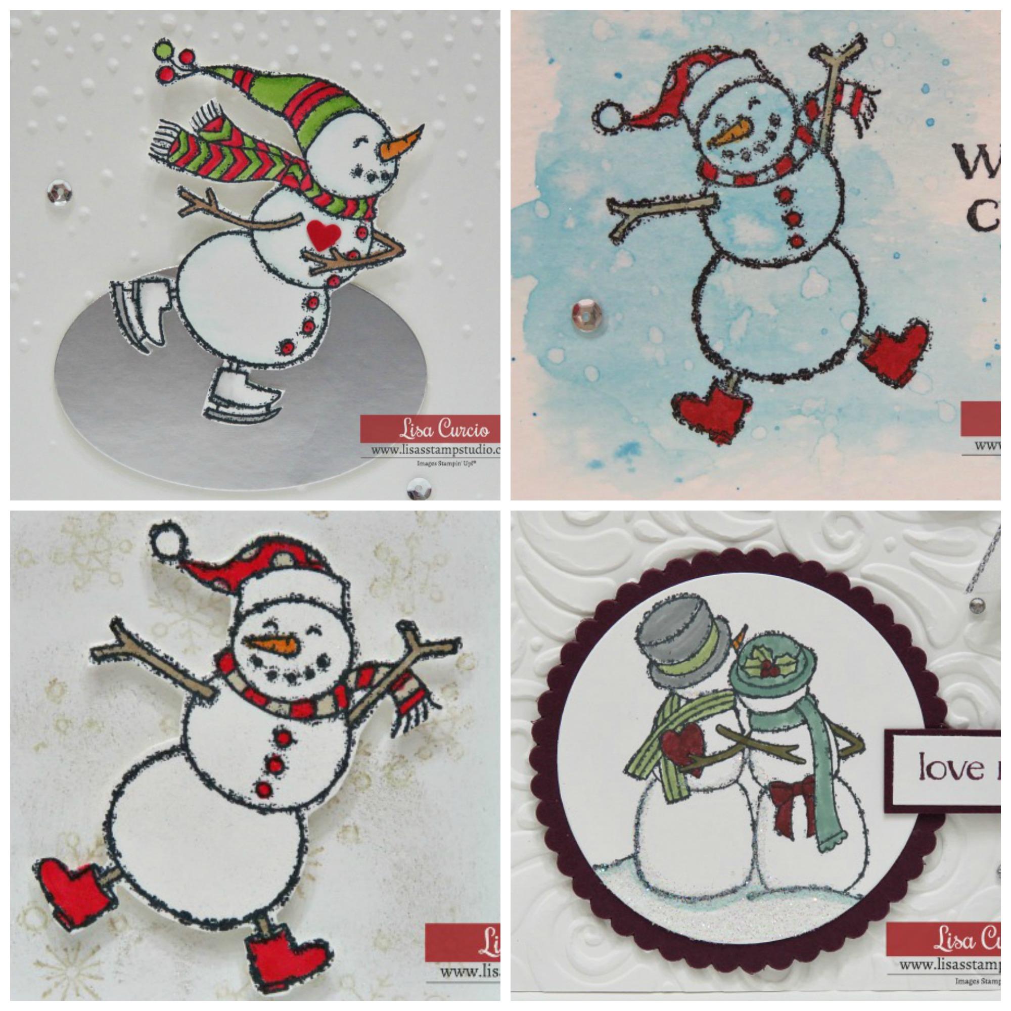 Spirited Snowmen Card Collection $7