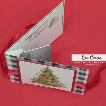 New Pop Up Gift Card Holder | Winter Woods