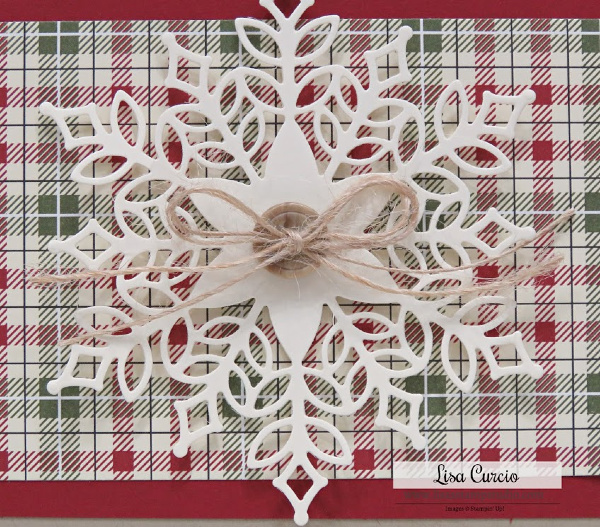 Video tutorial - How to Make a Die Cut Snowflake Card using Snowflake Showcase Snow is Glistening. Easy, quick, and beautiful handmade card. Lots of inspiration on the blog too. #cardmaking, #handmadecards, #greetingcards, #christmascards, #lisacurcio, #lisasstampstudio,