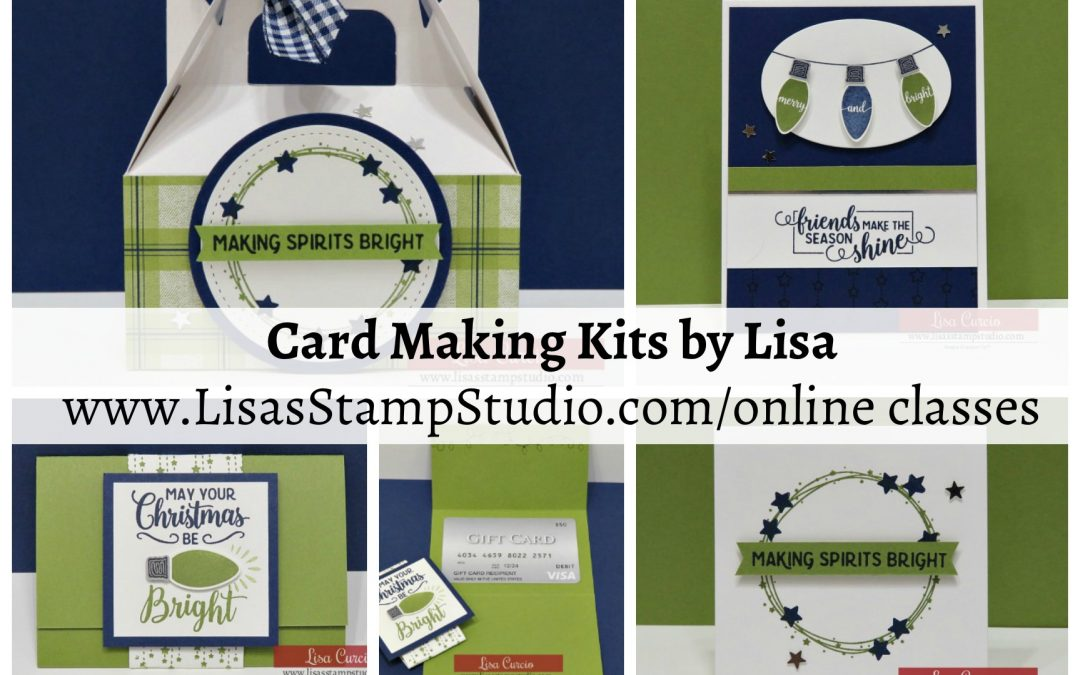 Card Making Kit by Lisa | Making Christmas Bright