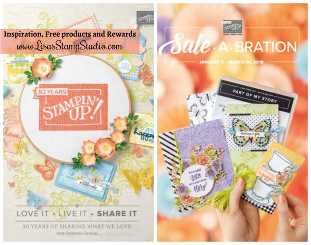 Stampin Up 2019 Sale A Bration and Occasions Catalog