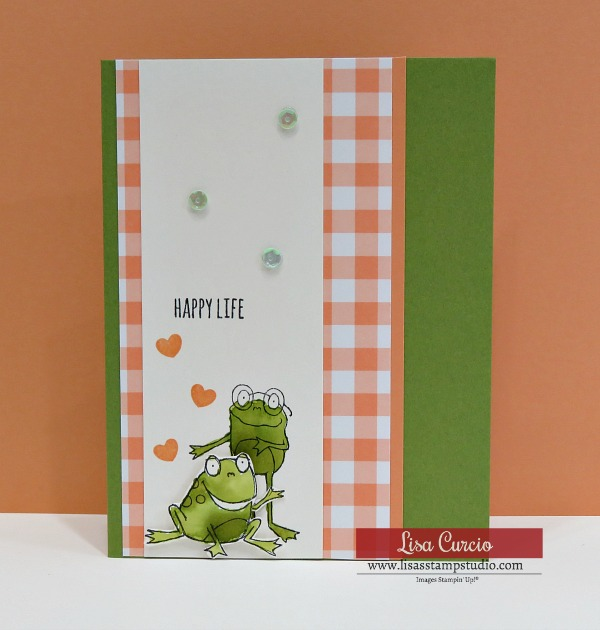5 Minute Card | Stampin' Up! So Hoppy Together