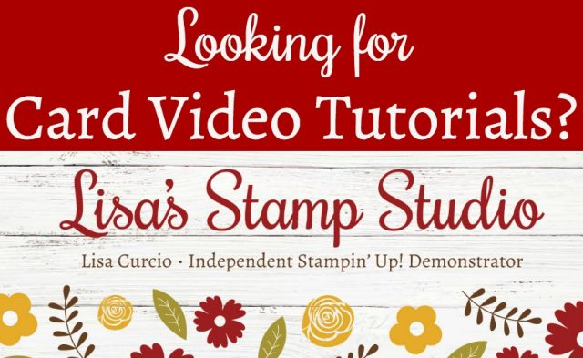 Hundreds of videos for paper crafters and card makers, loaded with tips and techniques. I typically post three new card making videos a week. #handmadecards #cardmaking #lisacurcio #lisasstampstudio