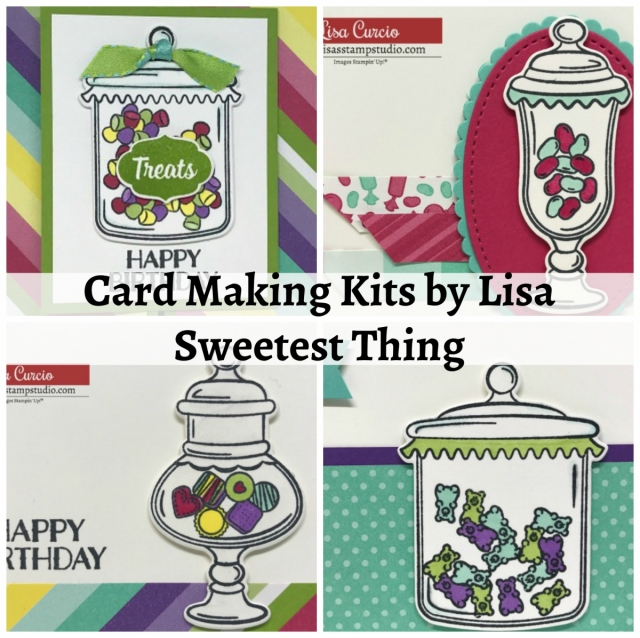 Card Making Kits by Lisa - March 2019 - Sweetest Thing. Ordering March 13-16, 2019