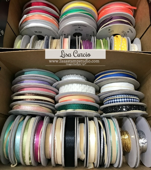 You'll Want this Ribbon Storage Solution