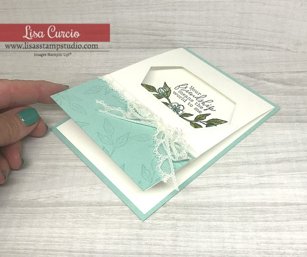 friendship-card-in-mint-green-with-leaves-flowers-and-sentiment