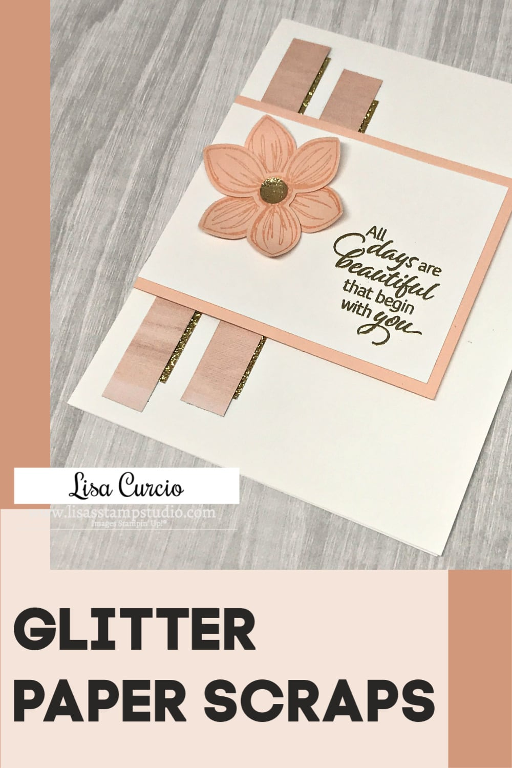 Glitter-Paper-Scraps-on-Handmade-Card-by-Lisa-Curcio