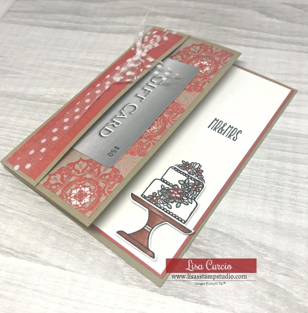 Here's a Quick Way to Make a Practical Gift Card Holder   Fun Fold Card Series