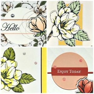 Step by step instructions, cutting dimensions, multiple pictures per project to make exclusive card designs. #handmadecards #papercrafts #diycards #lisacurcio #lisassstampstudio