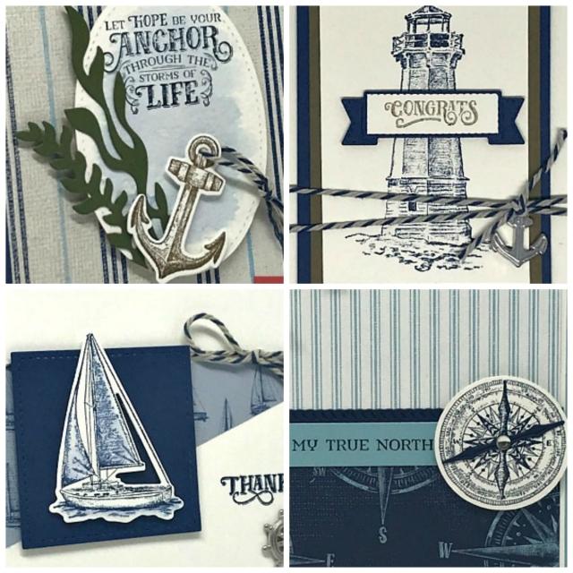 Sailing Home Card Kit by Lisa Curcio