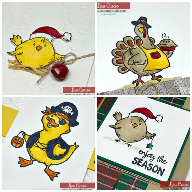 Card Making Kits by Lisa - September 2019 - Birds of a Feather. Ordering September 04-07, 2019