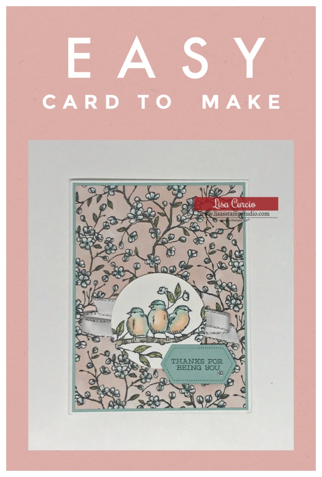 Easy-Card-to-Make-with-Birds-on-Tree-Limb-in-Pink-and-Blue