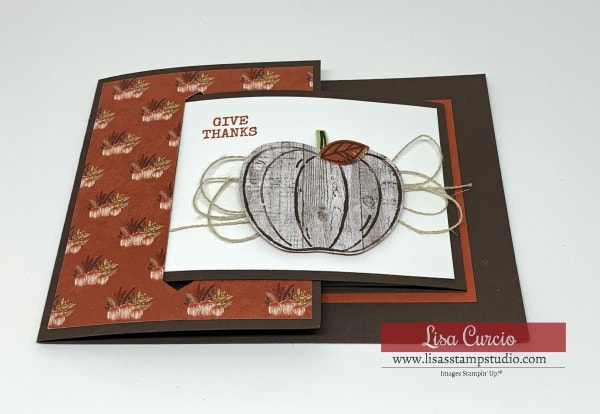 A Fun Fold Buckle Card that Will Blow Your Mind!