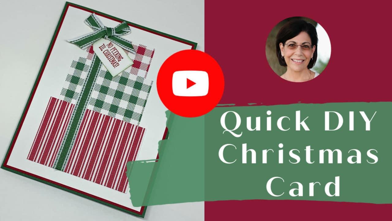 DIY-Christmas-Card-Handmade
