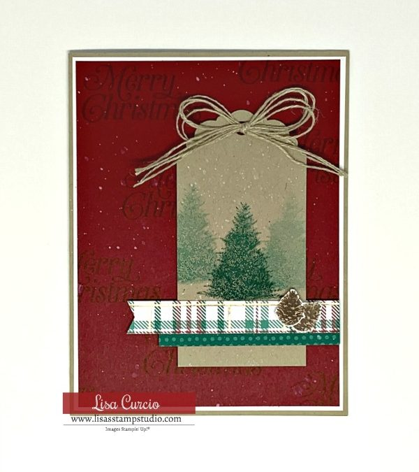 How to Make a Snow Effect on Your Christmas Cards