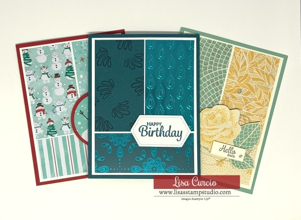 How to Make 3 Simple Cards in Minutes Using Paper Scraps