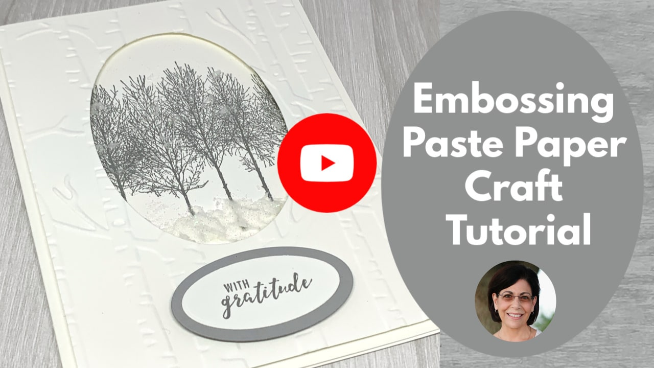 Embossing-Paste or Embossing-Paste-Technique