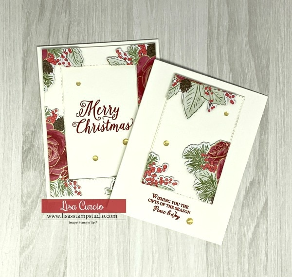 How to Make a Gorgeous Floating Frame Christmas Card