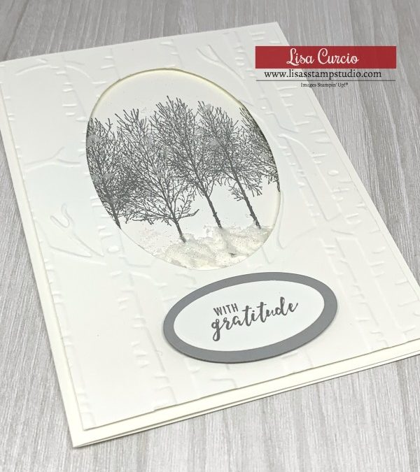 How to Use Embossing Paste as a Fun Card Making Technique
