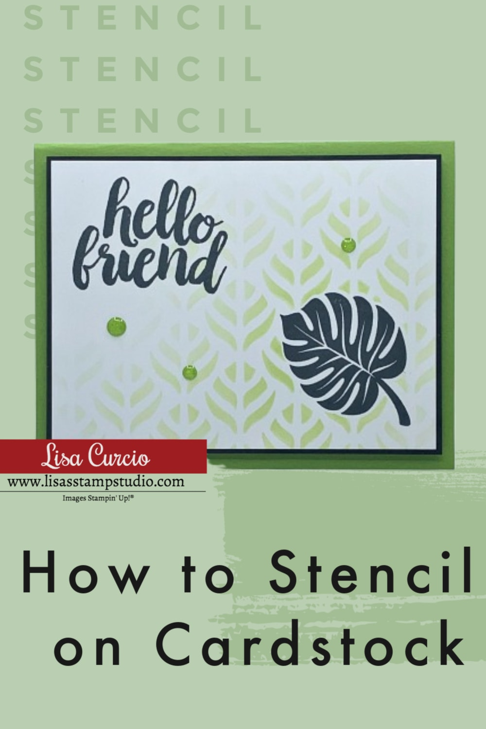 how-to-stencil-cards