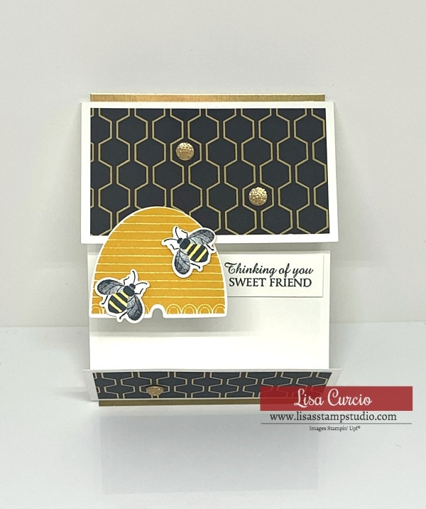 It's All the Buzz! How to Make a Unique Fun Fold Card