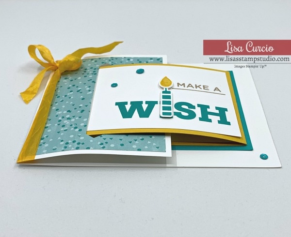 How to Make a Birthday Buckle Fold Card That's Full of Cheer