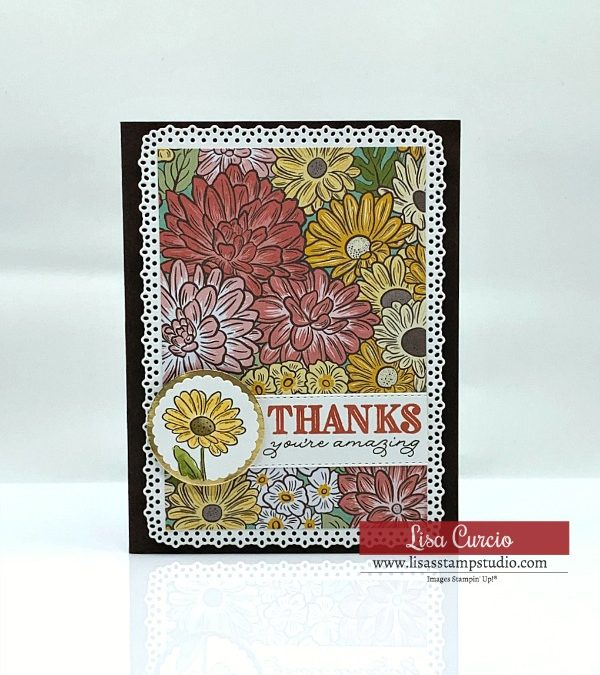 How to Make Impressively Charming Floral Cards