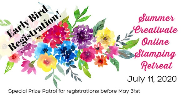 Online Stamping Retreat | July 11, 2020 Event