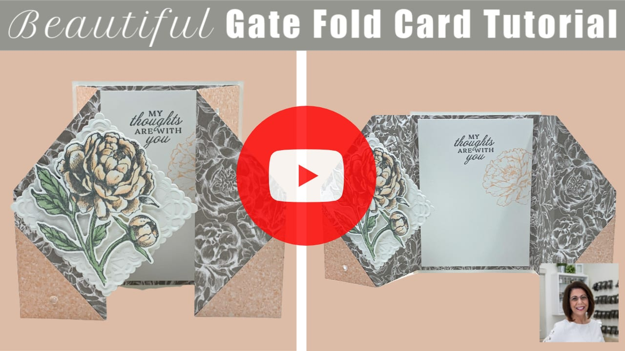 best-gate-fold-card-tutorial-with-beautiful-flower-pink-and-grey