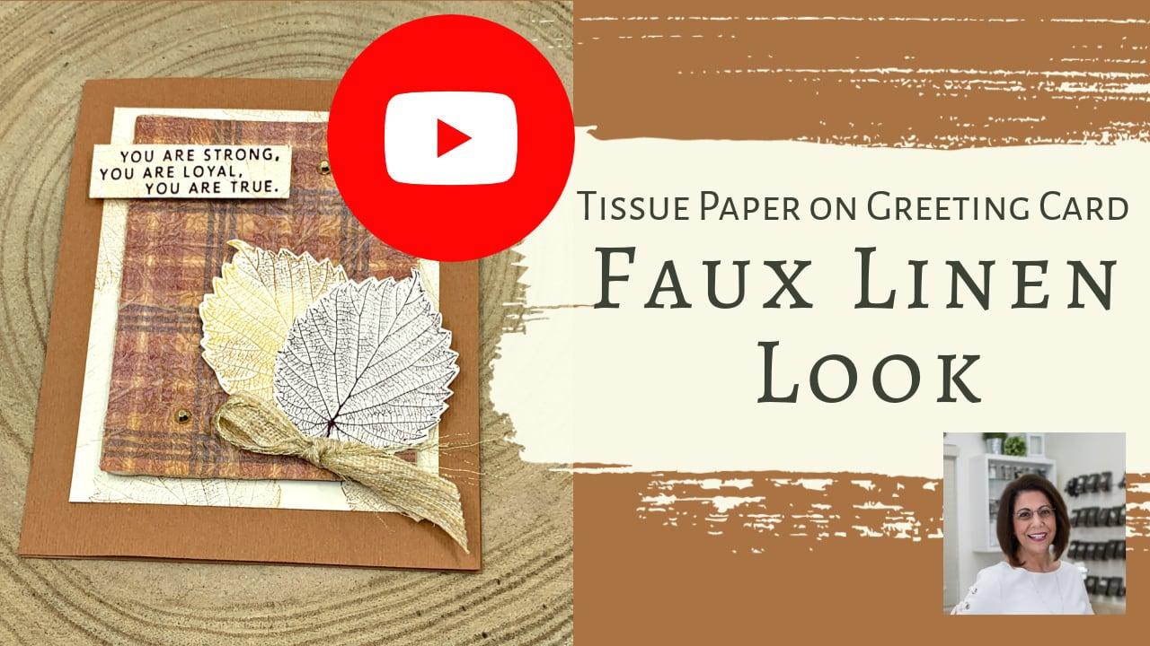 tissue-paper-on-diy-card-faux-linen-card-technique