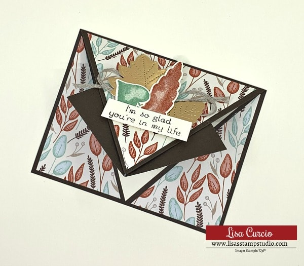 Have You Seen This Awesome Arrow Fold Greeting Card? | September Card Class