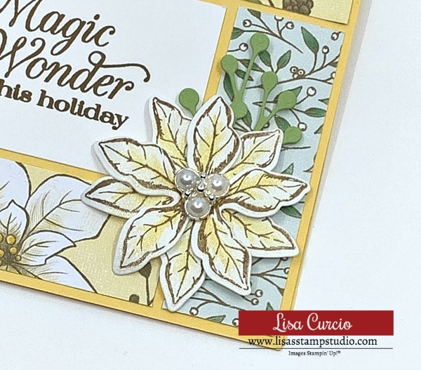 christmas-card-design-handmade-with-poinsettia-and-completed-with-pearl-embellishment