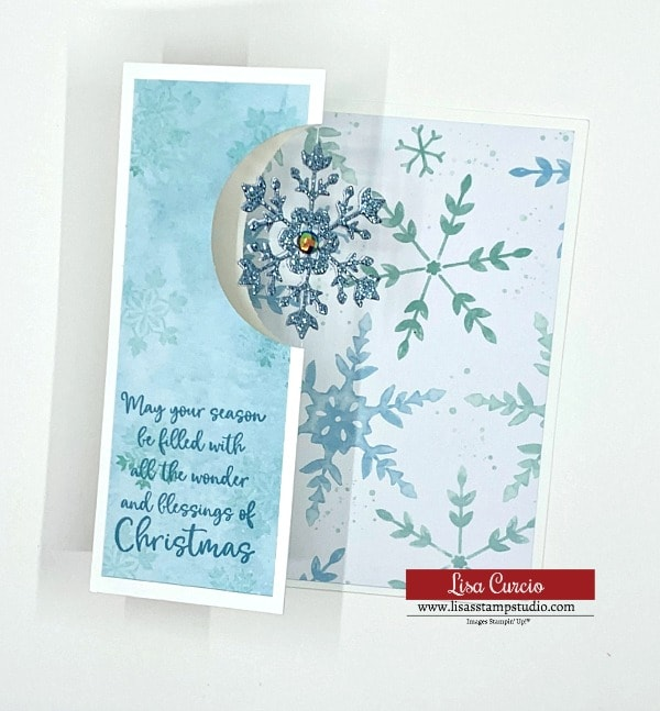How to Make a Z-Fold Spinner Card: The Easy Tutorial | Christmas Card Idea