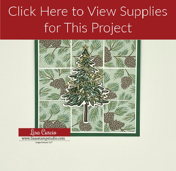 Click here to view supplies for DIY Christmas card 3