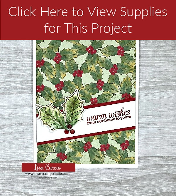 Click here to view supplies for DIY Christmas card 2